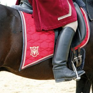 Baroque saddlepad