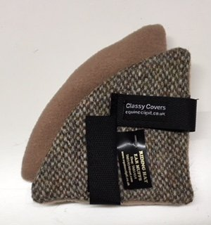 Harris tweed riding hat ear muffs - The Comfy Horse Company 20921911e04