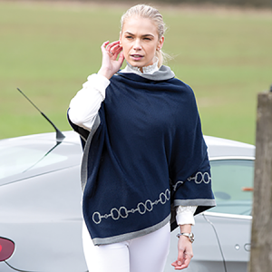 Equetech Reversible Snaffles Poncho