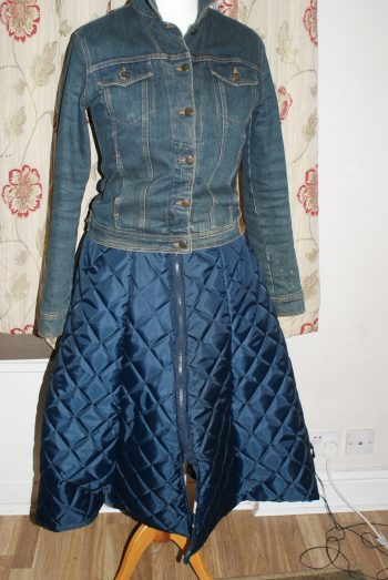 Quilted superskirt