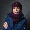 Equetech Cable Knit Loop Scarf - Mulberry