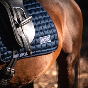 Oxford Blue dressage saddlepad