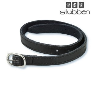 Stubben leather spur straps black