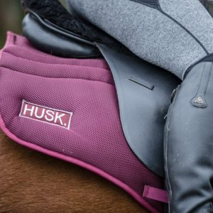 Burgundy Husk GP saddlepad