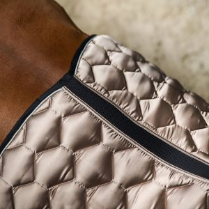 Sateen dressage saddlepad