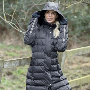 Equetech grey padded coat