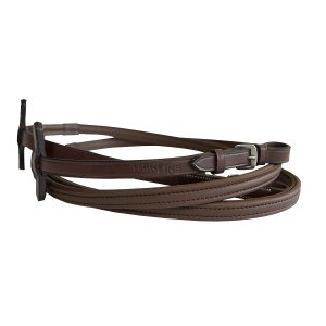 Thinline Dark Brown BuckleEnd