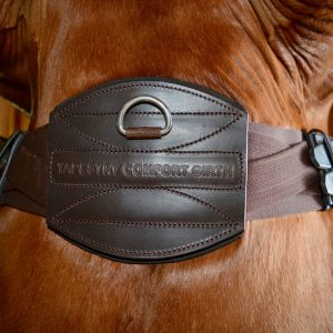 Tapestry Comfort Dressage Girth Havana Brown