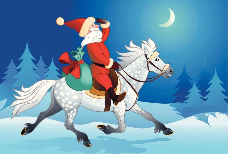 Happy Christmas from Comfy Horse