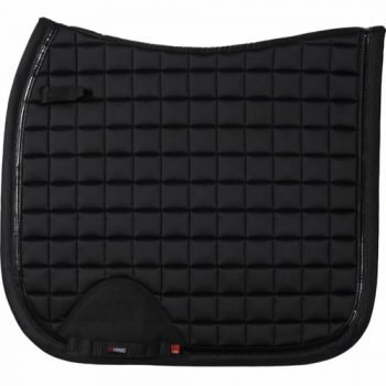 Fir tech elegent saddle pad dressage black